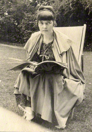 by Lady Ottoline Morrell, vintage snapshot print, 1916-1917